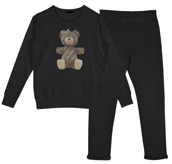 Homewear black - Logo Bear