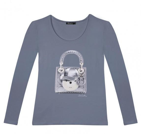 LSO Handbag teddy - Petrol
