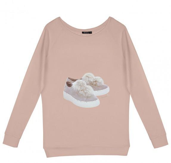 LF Baskets old pink - Loose fit model