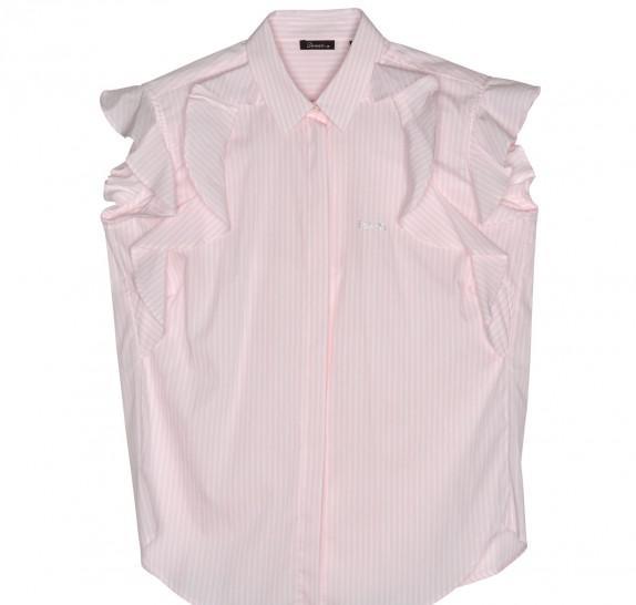 hemd 1 gestreept roze