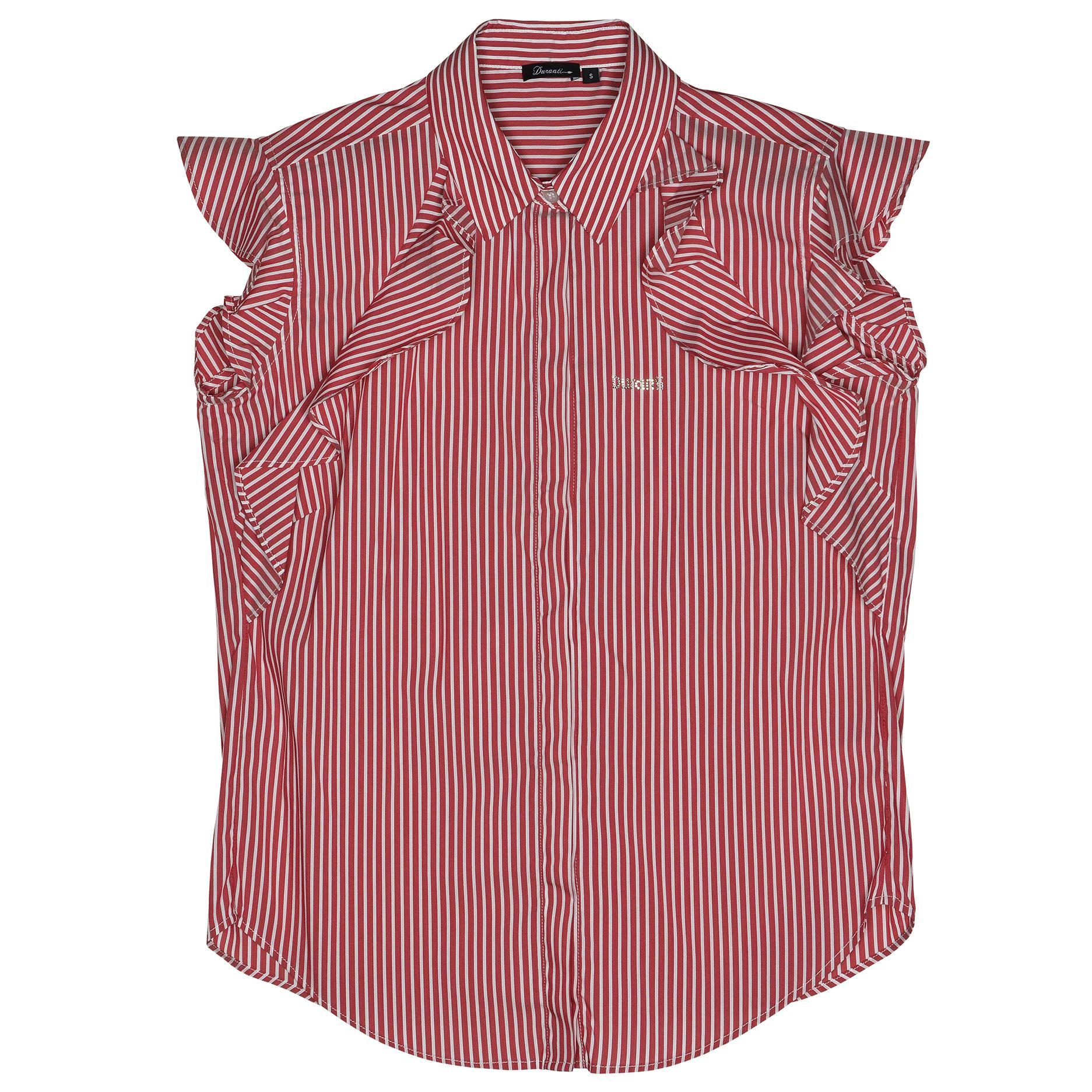 hemd 1 gestreept rood