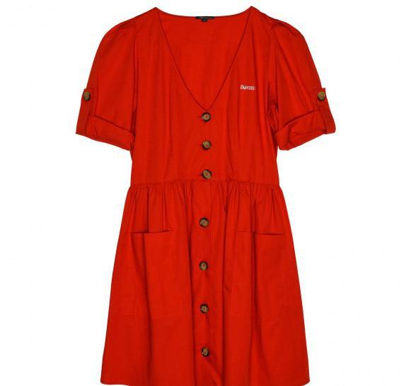 kleedje rood
