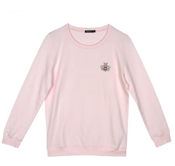 Sweater pink - Bee Happy