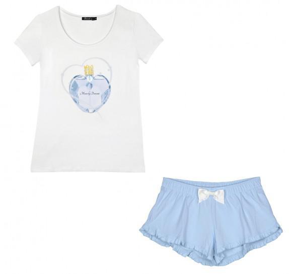 Pyjama t-shirt + short - parfume